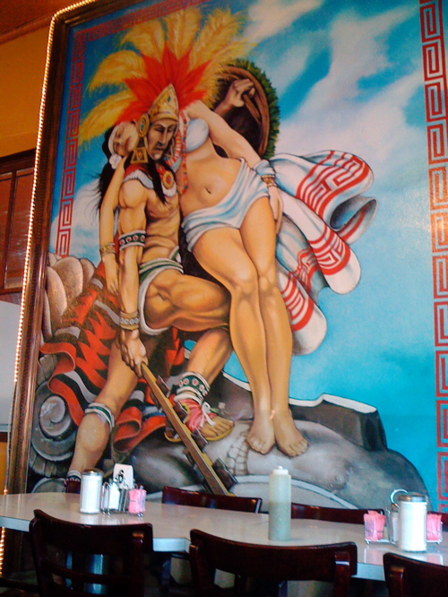 Taco Haven Mural