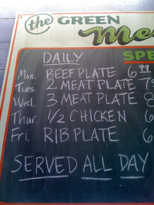 2 meat plate