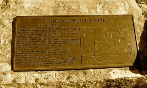Alamo Plaque