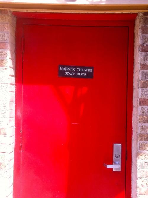 Majestic Red Door