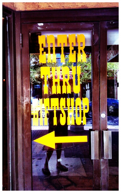 Enter Thru gift shop