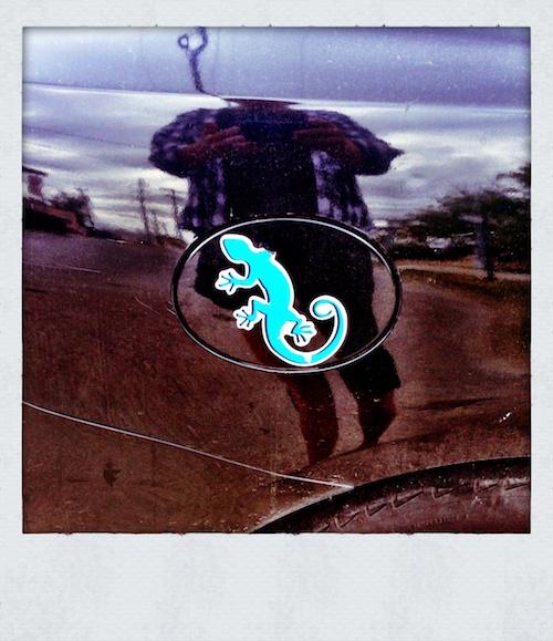 Blue Gecko Gas Cap