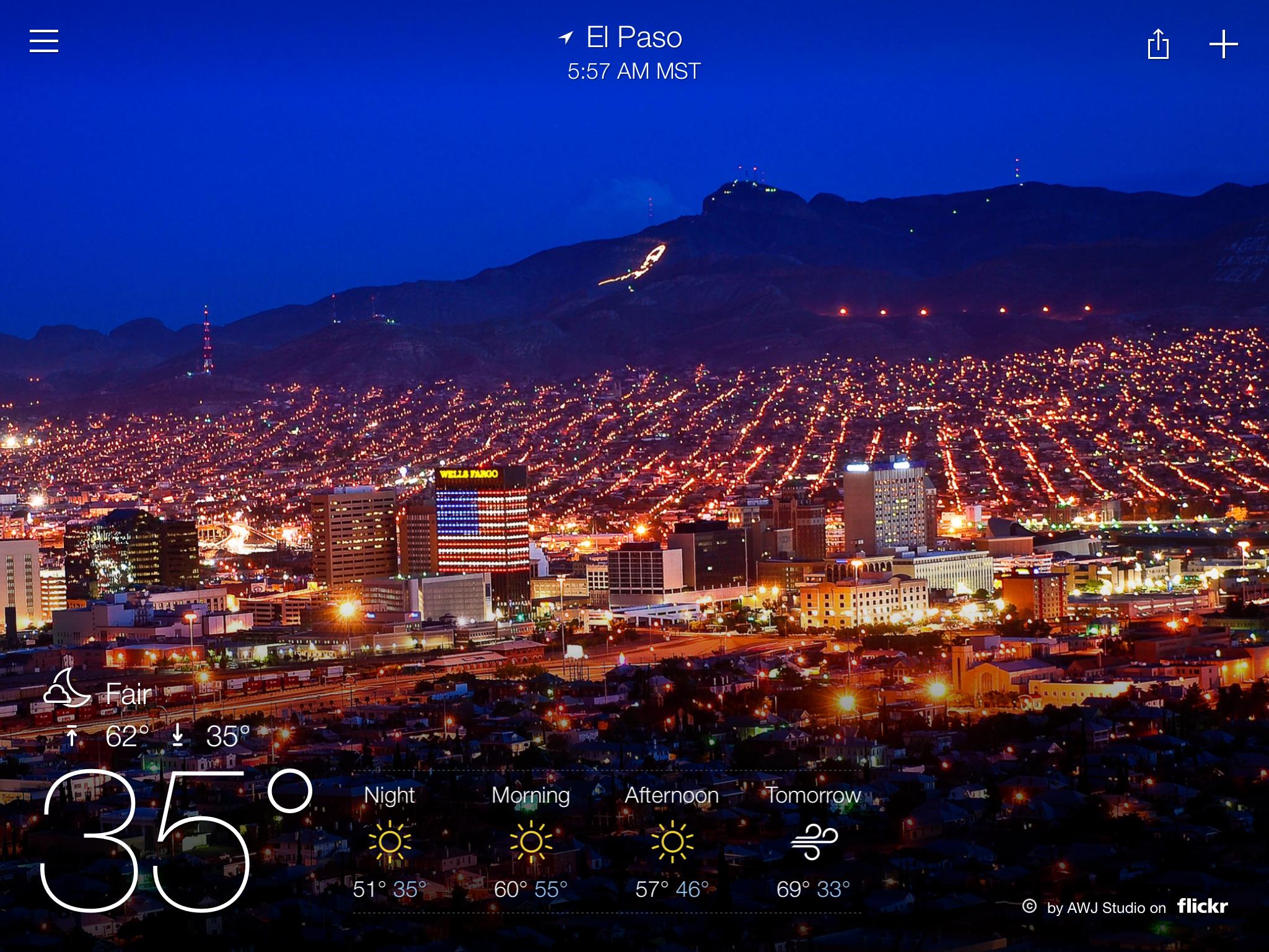 El Paso Temp