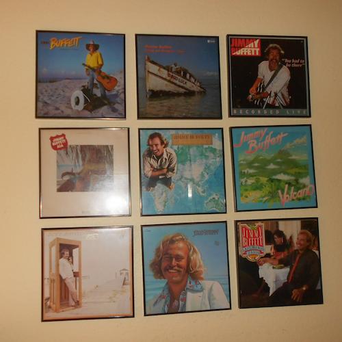 Jimmy Buffett Album Covers