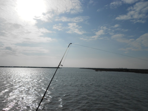 Fishng from Port A