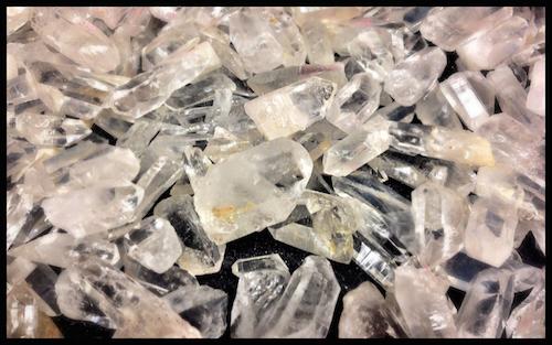 Lumeria Quartz Crystals