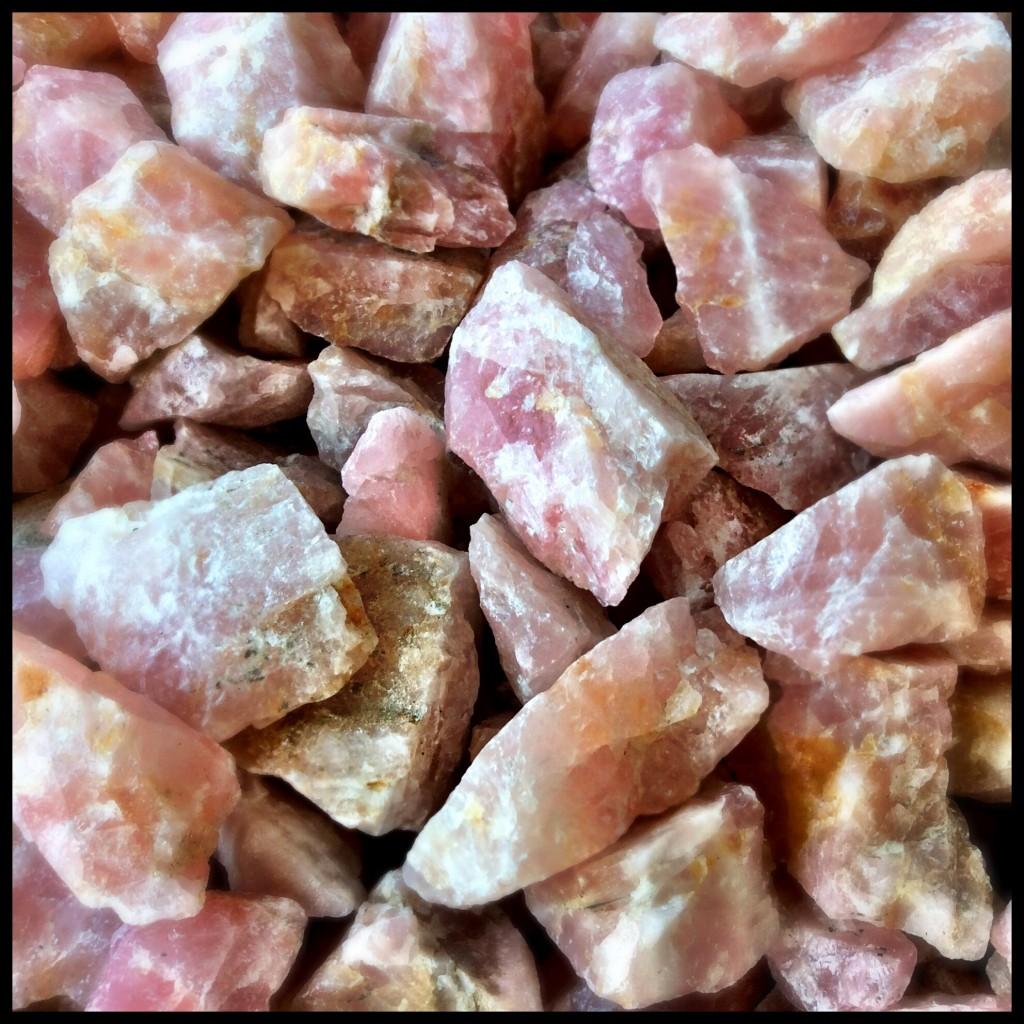 Rough Pink Quartz