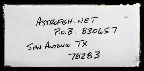 Address astrofish.net