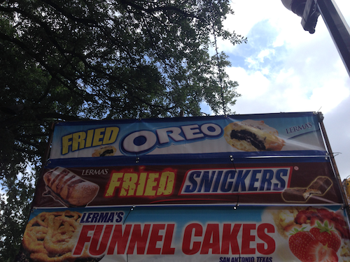 Fried Oreo Fried Snickers