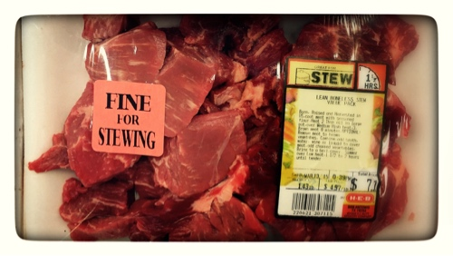 Fine for Stewing