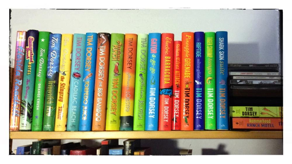 Tim Dorsey Bookshelf