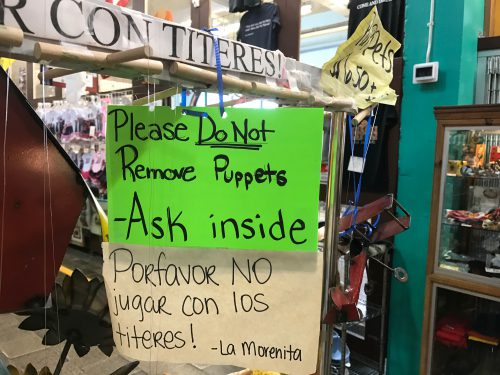 Do Not Remove Puppets