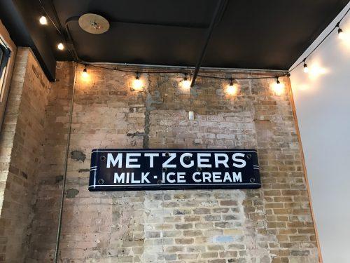 Metzgers Milk Ice Cream