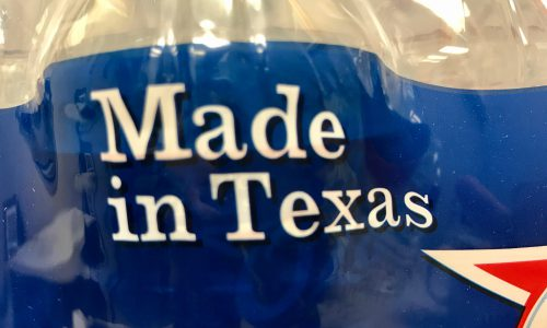 Water Made in Texas