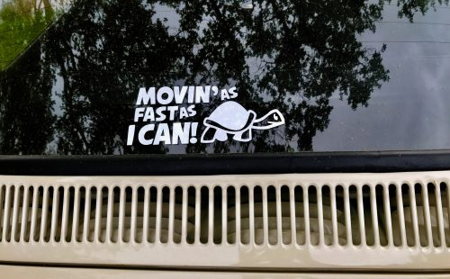 Movin as Fast