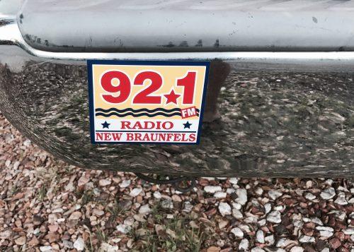 Radio New Braunfels sticker