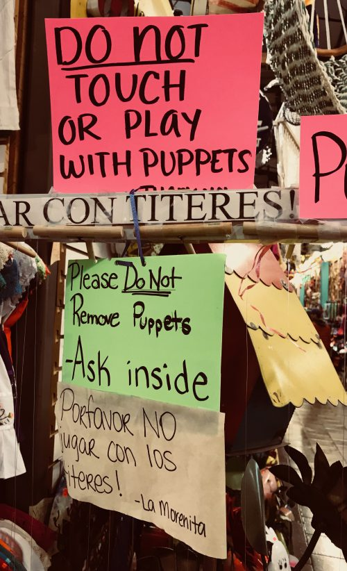 Do Not Play with Puppets
