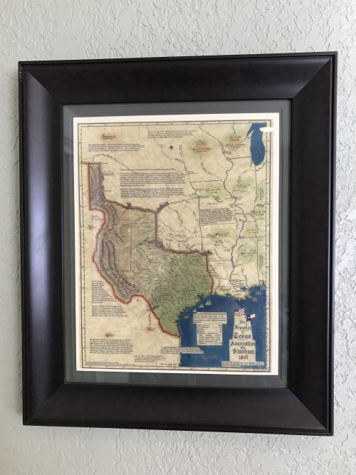 The Texas Map