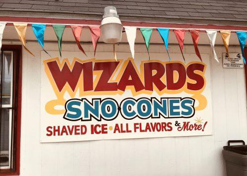 Wizard Sno Cones