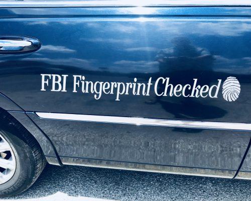 FBI Fingerprint Checked