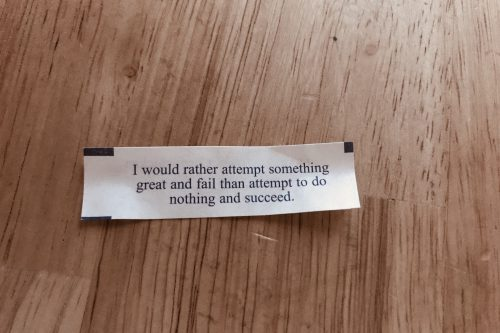 Fortune Cookie Proverb
