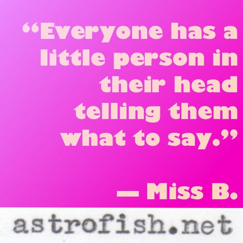 Miss B Quote