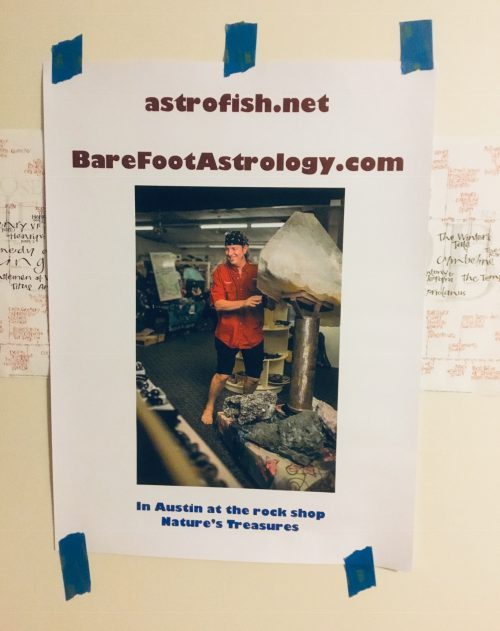BareFoot Astrology poster
