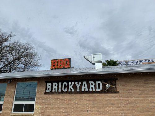 Brickyard BBQ Sign
