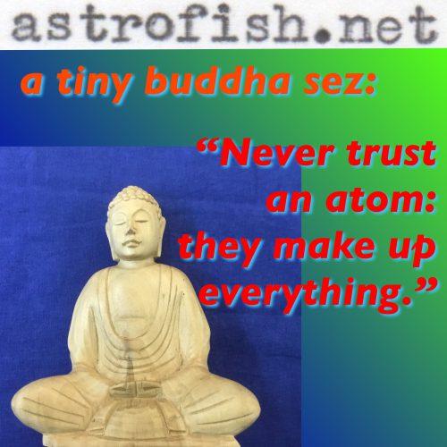 Don't Believe Atoms