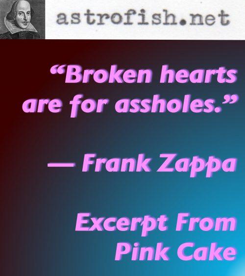 Zappa Broken Hearts