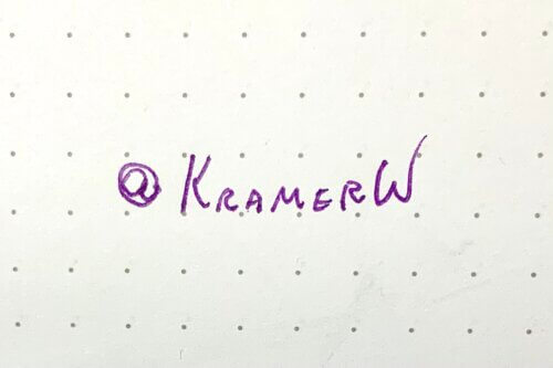 at KramerW
