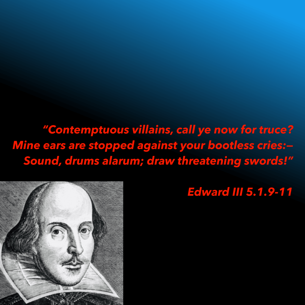 Edward 3 quote